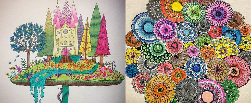 These Gorgeous Coloring Books For Adults Are Simply Magical