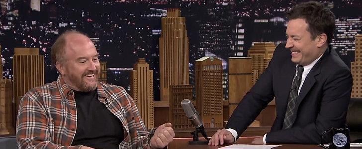 Louis C.K.'s Jimmy Fallon Impression Makes Jimmy Laugh So Hard