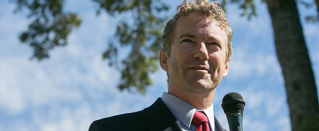 Rand Paul Announces That He's Running For President in 2016