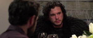 Jon Snow Is a Hilarious Debbie Downer at Seth Meyers' Dinner Party
