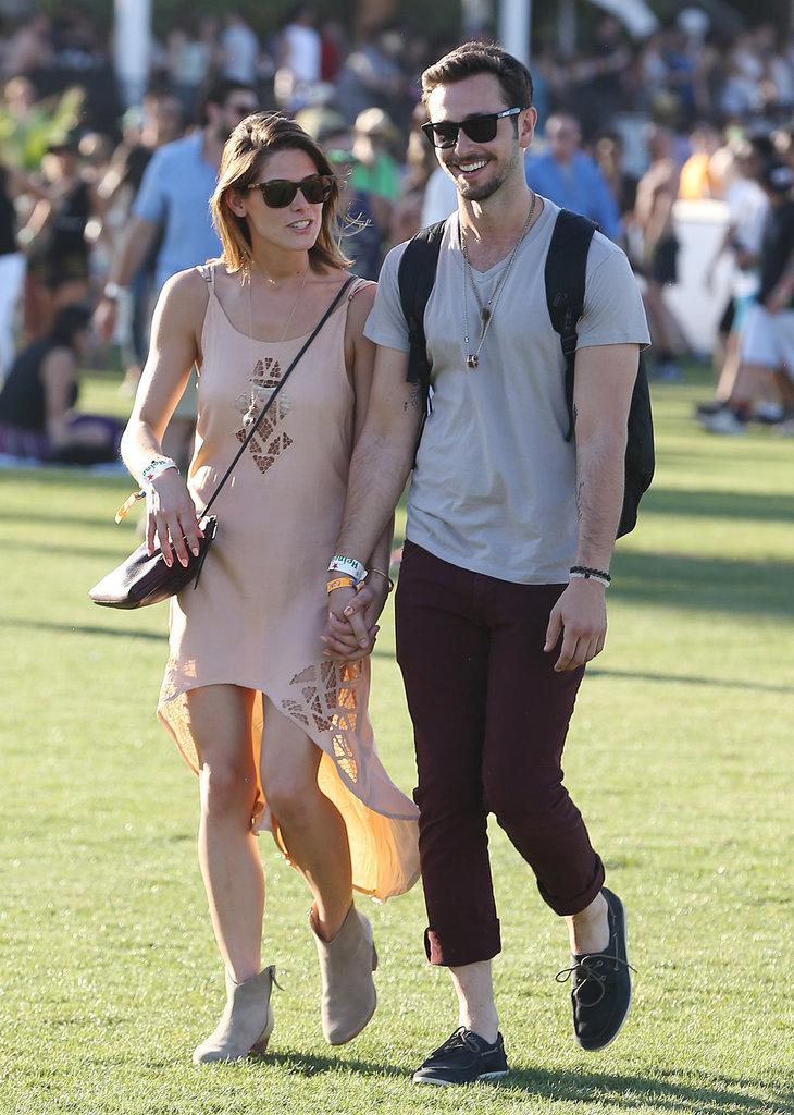 Ashley Greene and Paul Khoury in 2014