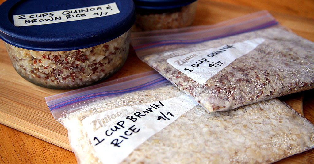 Save Money, Time, and Calories! Freeze Your Grains