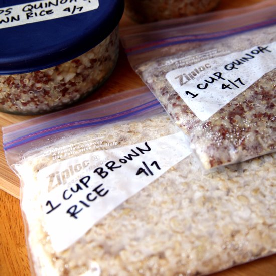 How to Freeze Cooked Whole Grains