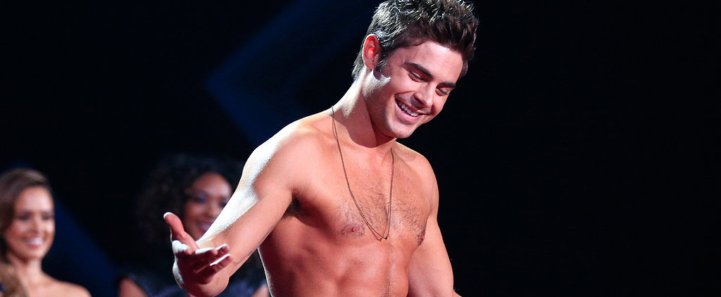 Flashback to Zac Efron's Glorious Shirtless Moment at the MTV Movie Awards