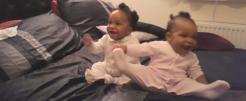 You're Going to Want to Watch How These Twin Babies React to Mom's Singing