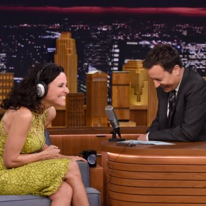 Jimmy Fallon and Julia Louis-Dreyfus Whisper Challenge Video