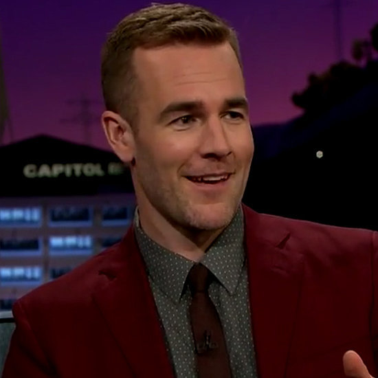 James Van Der Beek on The Late Late Show With James Corden