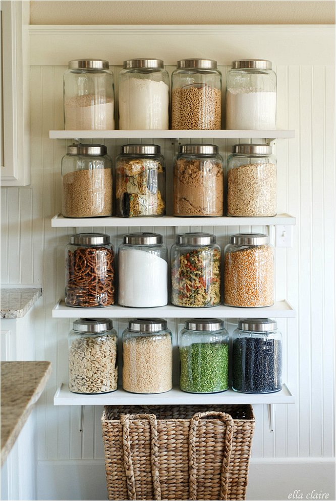 The best home organizing products popsugar home for Glass jar kitchen ideas