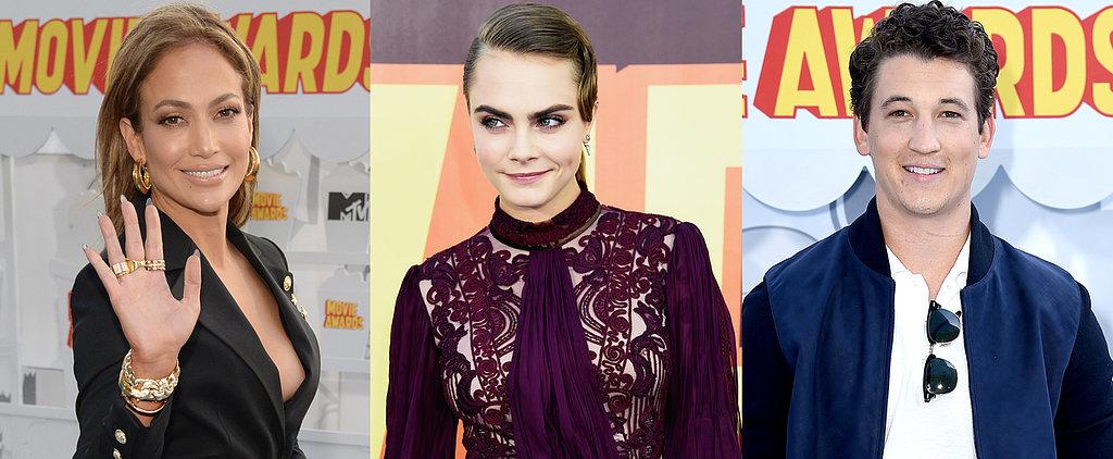 Stars Stun on the MTV Movie Awards Red Carpet