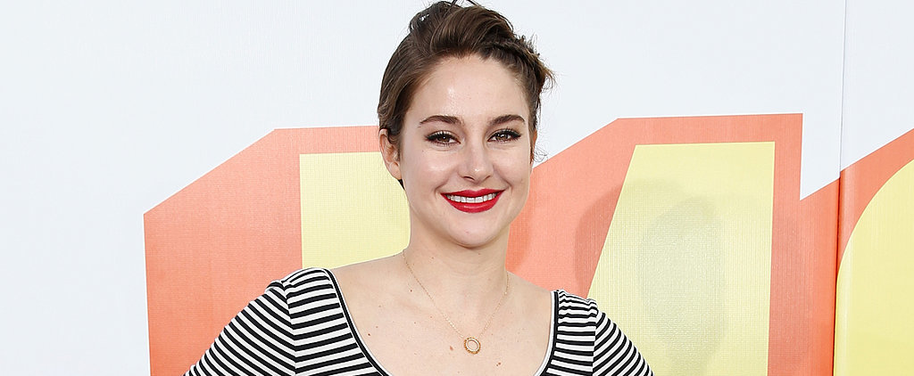 Shailene Woodley Flashes a Winning Smile  During Her Big Night