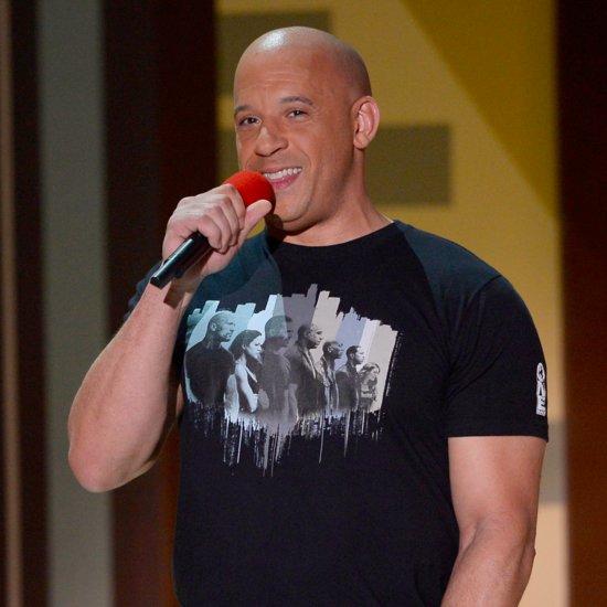 "Vin Diesel Singing ""See You Again"" at the MTV Movie Awards"