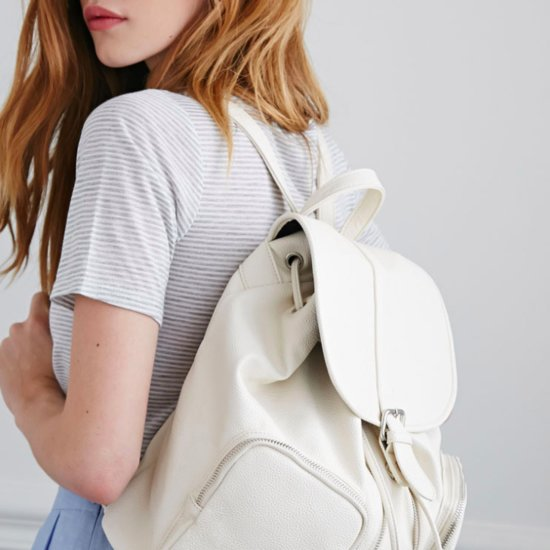 White Backpacks For Spring | Shopping