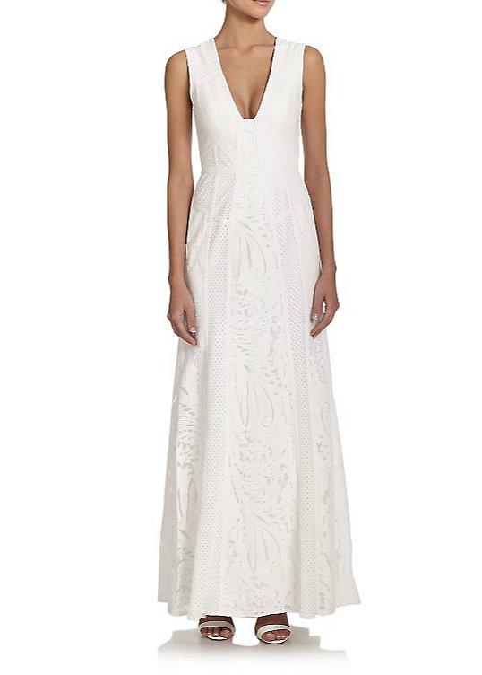 BCBG Max Azria Elisia Lace Gown ($498)