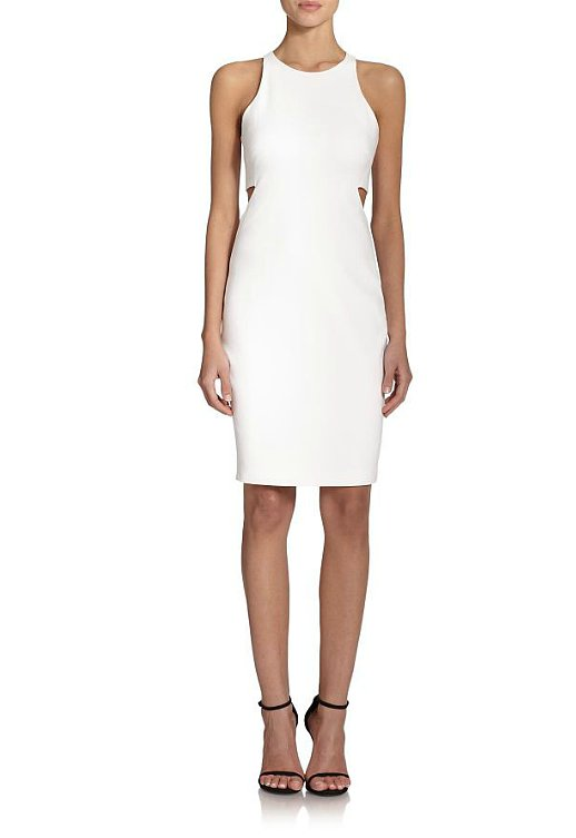 Elizabeth and James Lela Cutout-Waist Dress ($365)