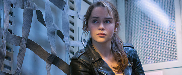 Emilia Clarke Looks Like a Total Badass in the Terminator Genisys Pictures