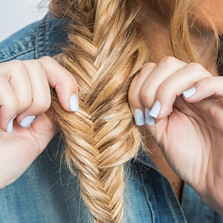 This Part-Dutch, Part-Fishtail Tutorial Will Cause Major Plait Envy