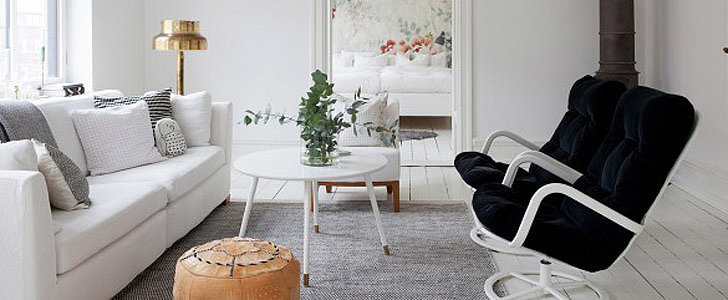 Go Inside an Airy and Feminine Scandinavian Apartment