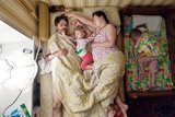 15 Mesmerizing Photos of Parents-to-Be Sleeping (Yup, Sleeping)