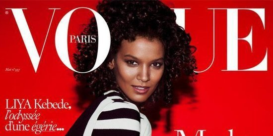 Vogue Paris' May 2015 Issue Features The Magazine's First Black Cover Model In 5 Years