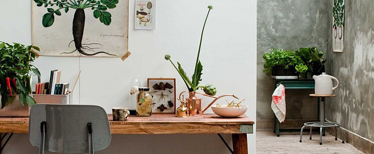 Re-Create This Botanical Workspace in Your Own Office