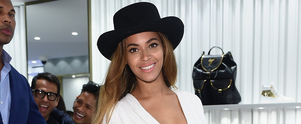 Of Course, All Eyes Were on Beyoncé at the Giuseppe Zanotti Boutique Opening