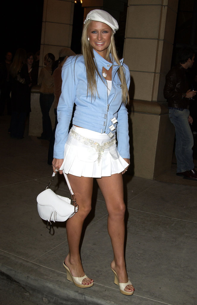Paris Hilton Style 2000s Popsugar Fashion