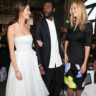 Celebrities at 2015 Mercedes-Benz Fashion Week Australia