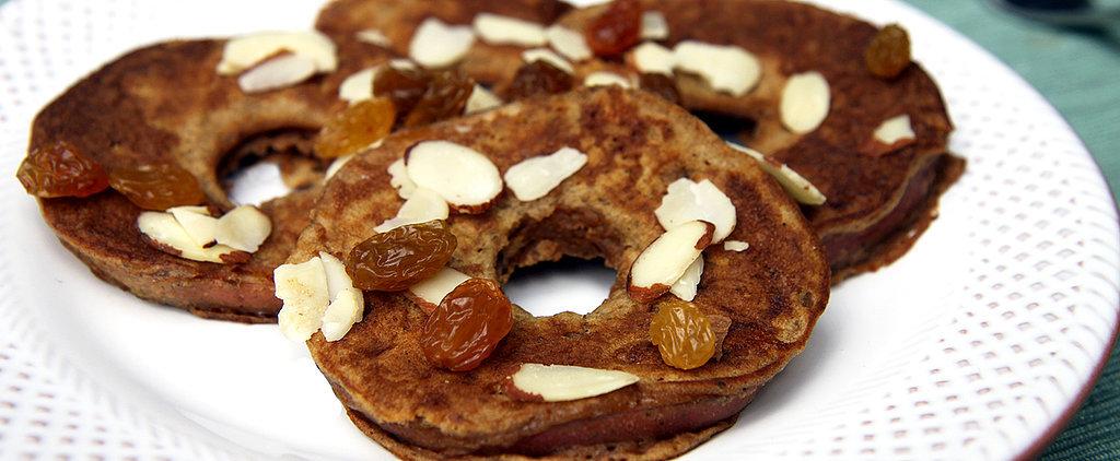 Apple Ring Pancakes — Just 57 Calories!