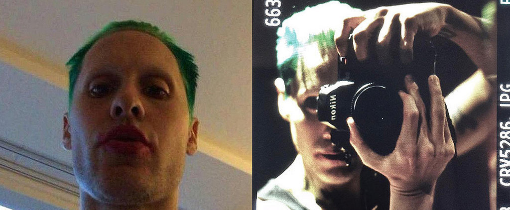 Jared Leto Shows Off Green Hair and a Red Lip on Snapchat