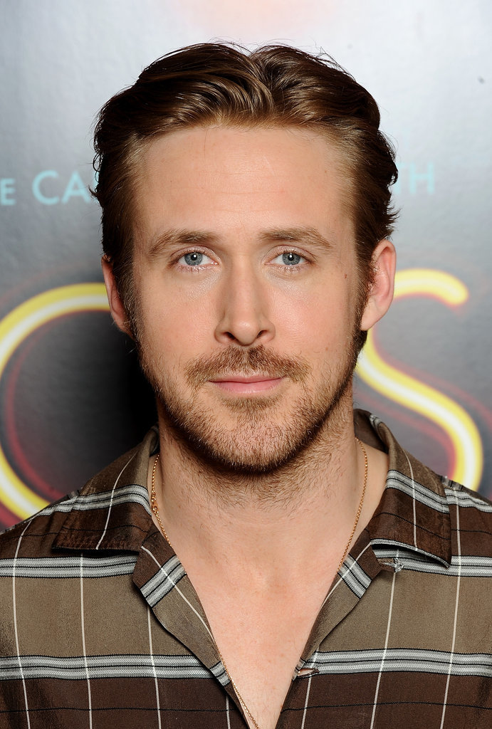 Ryan Gosling With Black Hair 2015 | POPSUGAR Beauty Ryan Gosling