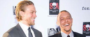 "Sons of Anarchy's Theo Rossi Acknowledges Charlie Hunnam's ""Great Ass"""