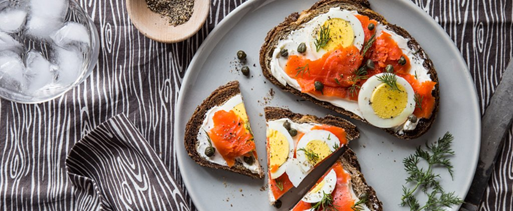 Drop That Bagel and Make This Smoked Salmon and Hard-Boiled Egg Toast Instead