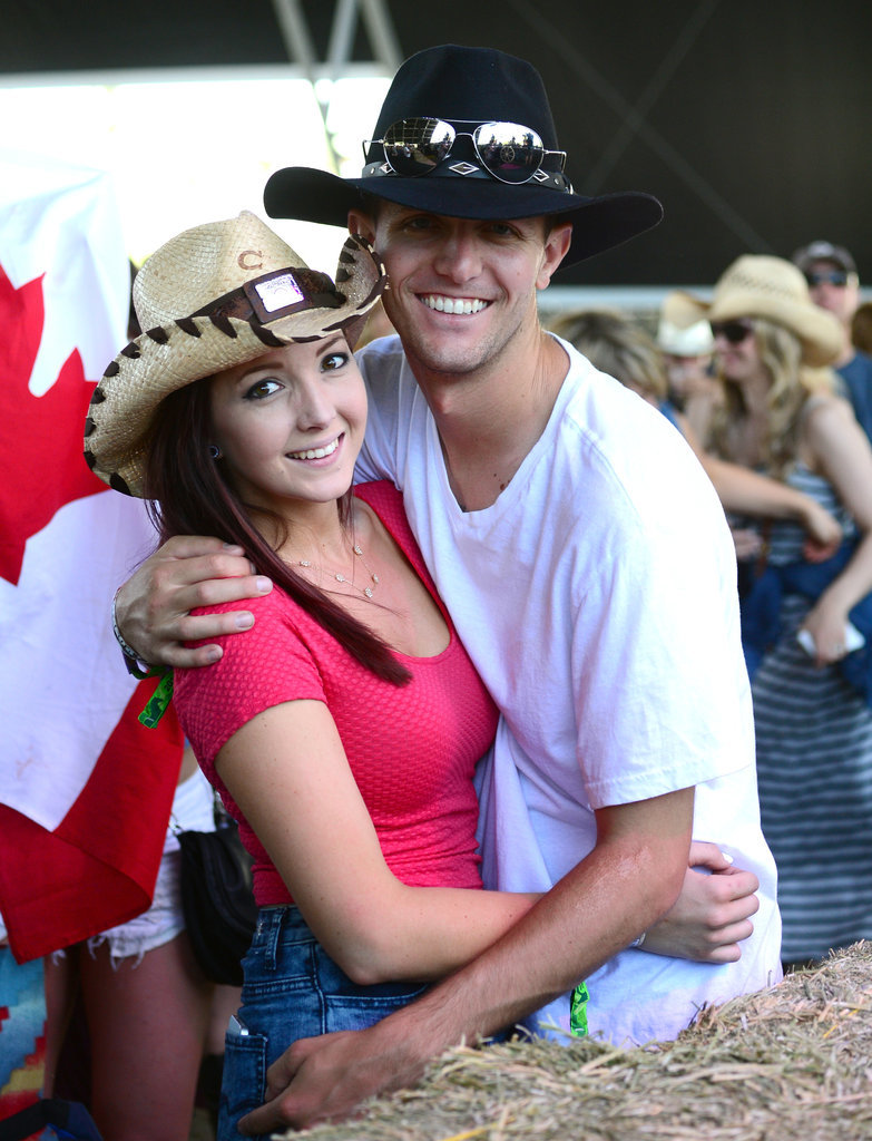 A pair were all smiles at 2014's Stagecoach.