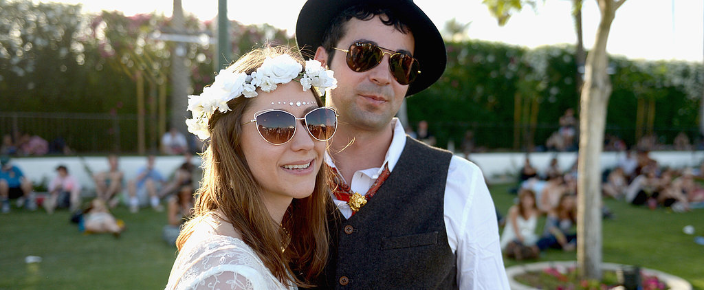 A Couple Got Married at Coachella and It Looks Just How You Thought It Would