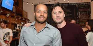 Gay Indiana Couple Hopes To Take Zach Braff And Donald Faison Up On Their Pizza Offer For Upcoming Wedding