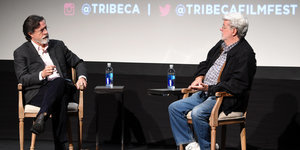9 Tidbits From George Lucas' Tribeca Chat With Stephen Colbert