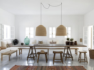 Design Sleuth: 6 Summery Natural Fiber Pendant Lights