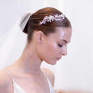 Hair and Makeup at Bridal Fashion Week Spring 2016