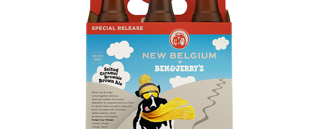 Will You Try Ben & Jerry's Salted Caramel Brownie Beer?