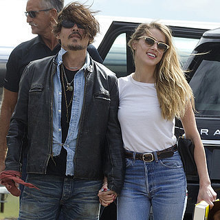 Johnny Depp and Amber Heard Hold Hands in Brisbane | Photos