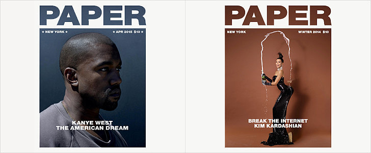 Who Needs His and Hers Towels? Kanye and Kim Have His and Hers Covers