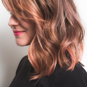 How to Color Dark Hair Pastel