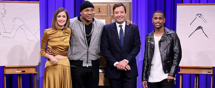 Things Get Weird When LL Cool J Plays Pictionary With Big Sean and Rose Byrne