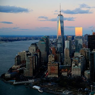 One World Trade Center Elevators Give Time-Lapse Look at NYC
