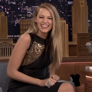 Video of Blake Lively Snorting and Laughing on Jimmy Fallon
