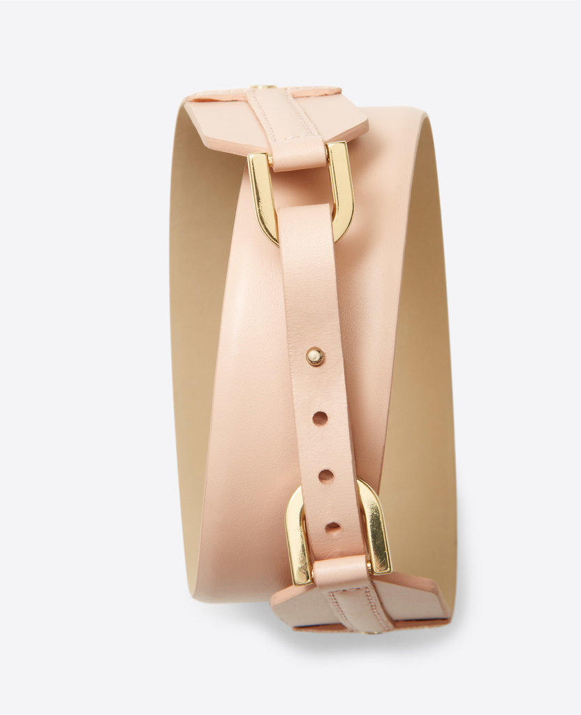 This belt would add a bit more personality to Mom's workwear.  Ann Taylor Leather Corset Belt ($50)