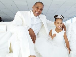 Blue Ivy Stole the Show at Tina Knowles' Wedding