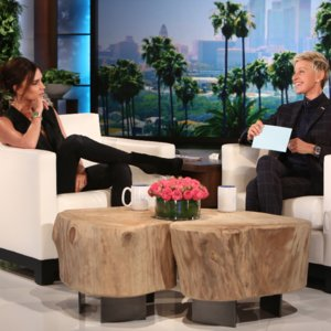 Video of Victoria Beckham on Ellen | David Beckham's Tattoos
