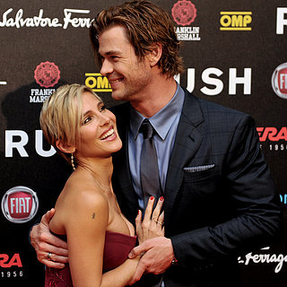 Cute Pictures of Chris Hemsworth and Elsa P