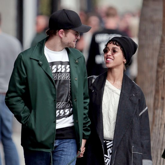 FKA Twigs Wearing Engagement Ring With Robert Pattinson